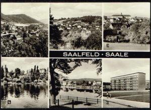 Duitsland Saalfeld Saale diverse afbeeldingen 10 4442