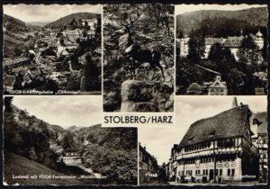 Duitsland Stolberg Harz diverse afbeeldingen T 120 59